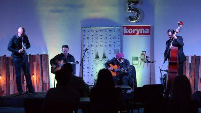 VIDEO/FOTO Vrhunskom svirkom Oridano Gypsy Jazz Band proslavio deseti rođendan, a program Jazz petkom na Zametu peti