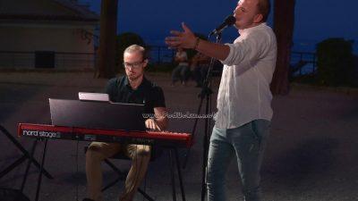 FOTO/VIDEO Antonio Krištofić i Mateo Žmak otvorili glazbeni program 29. Kastafskog kulturnog leta
