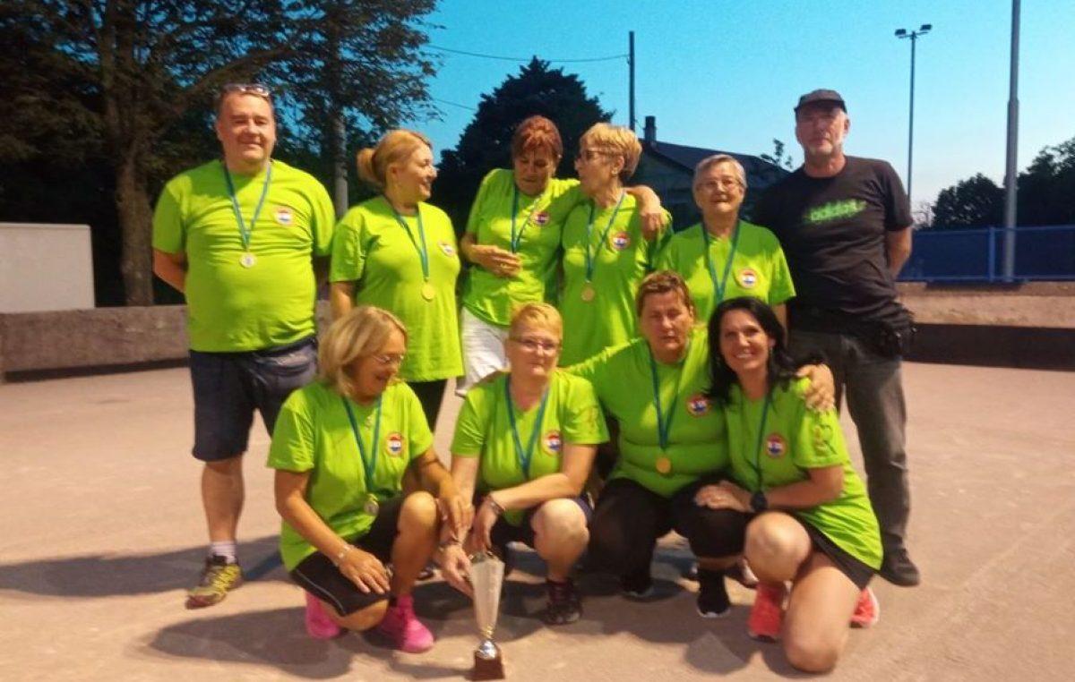Boćarice ženskog boćarskog kluba Kastav prvakinje su ženske županijske lige