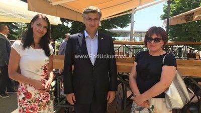 Premijer Plenković posjetio Matulje: Iva Letina iskazala se svojim socijalnim radom i društvenom angažiranošću