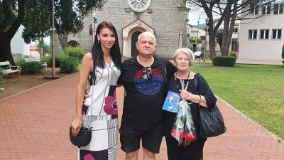 Pukovnik Damir Radnić i majka Jean-Michela Nicoliera dali podršku Ivi Letini u kampanji za Sabor