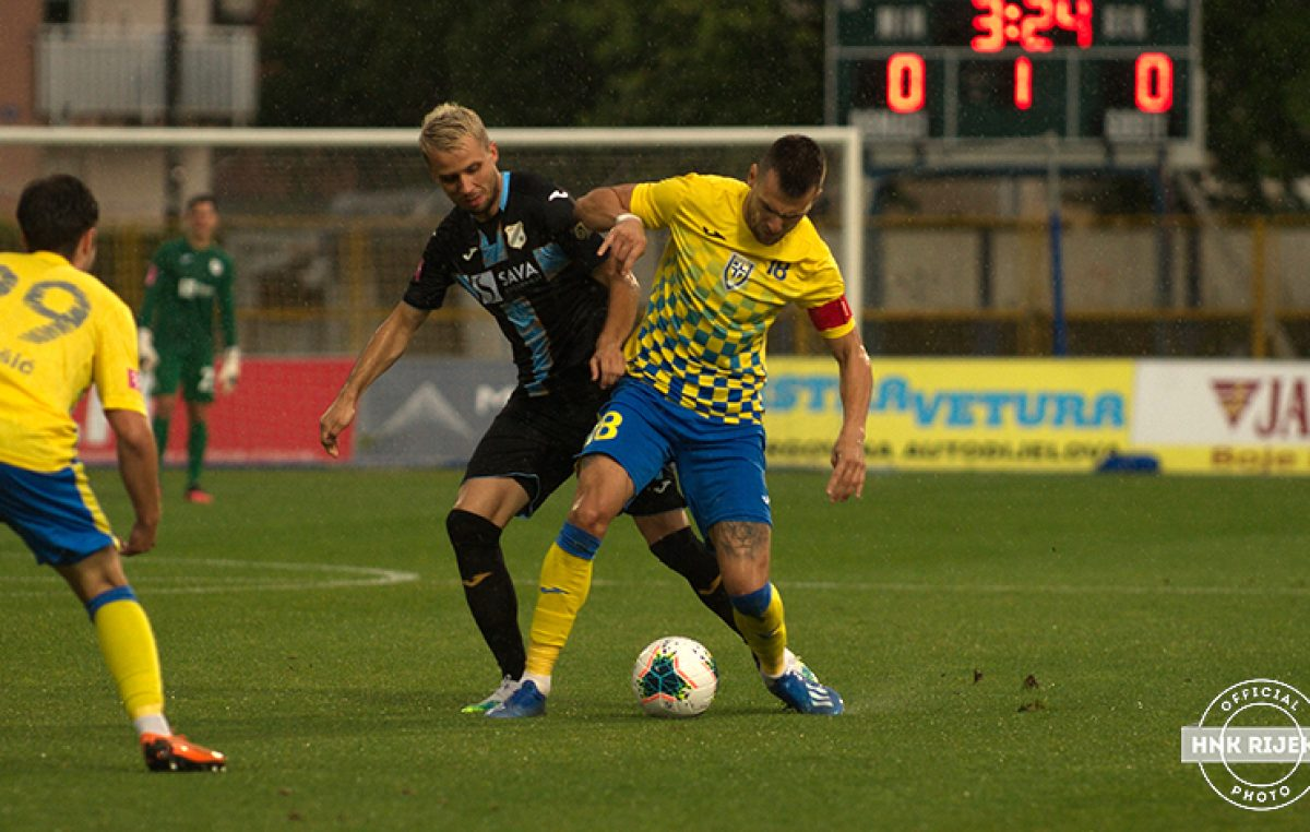 Nogometaši Rijeke savladali Inter – Bijeli pobijedili Čolakovim golom iz penala