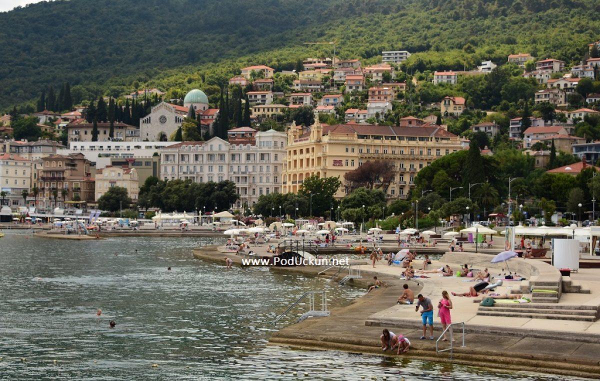 Donesen godišnji plana upravljanja pomorskim dobrom Grada Opatije za 2021.