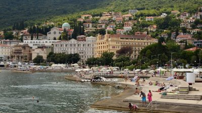 Turistički Kvarner obzirom na okolnosti bilježi solidne rezultate – U prvih 6 mjeseci na 50%, srpanjski rezultati na 66% prošlogodišnjih