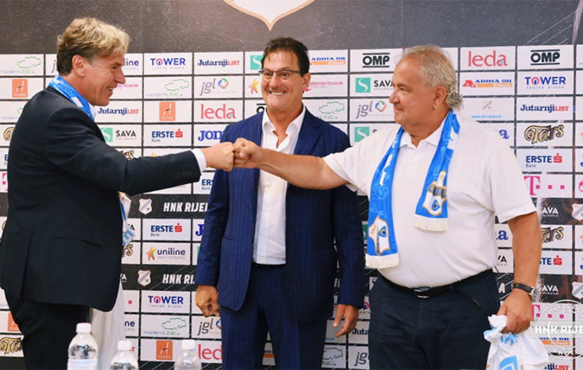 VIDEO HNK Rijeka predstavila pojačanja u vodstvu kluba – David Kastelic i Nikola Ivaniš novi su članovi klupske uprave