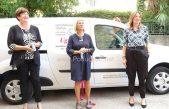 VIDEO Primorsko-goranska županija nabavila opatijskoj Ugostiteljskoj školi novo dostavno vozilo