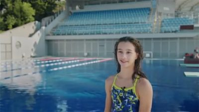 VIDEO Mlada plivačica Petra Mance izabrana za Kastavku mjeseca kolovoza