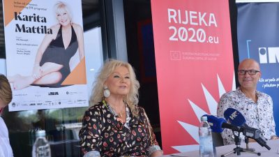 VIDEO Svjetska operna diva Karita Mattila u Navisu najavila svoj nastup: 'Riječki koncert za mene je poseban'