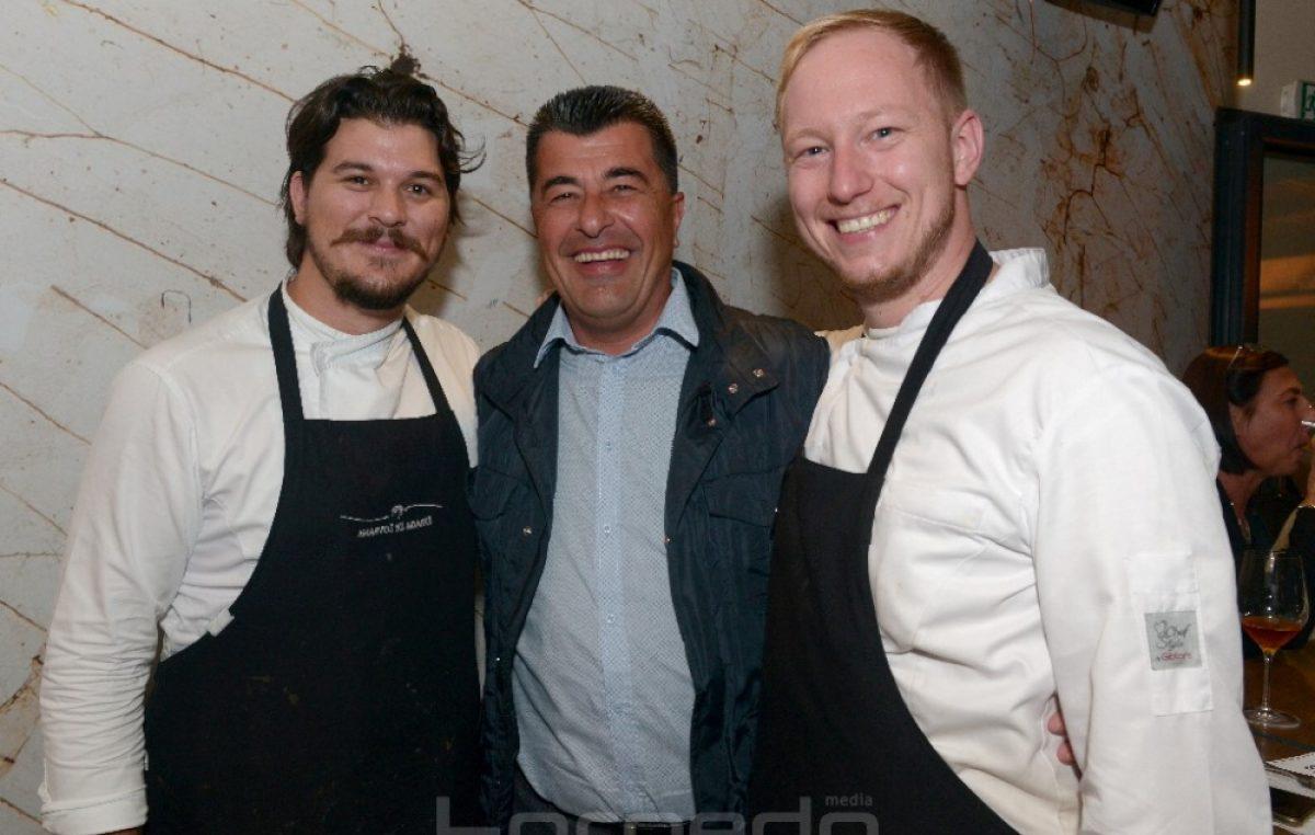 FOTO/VIDEO Deni Srdoč, Mario Štokić i Dominik Bečvardi pripremili vrhunski gastro užitak i oduševili goste kavane Grad
