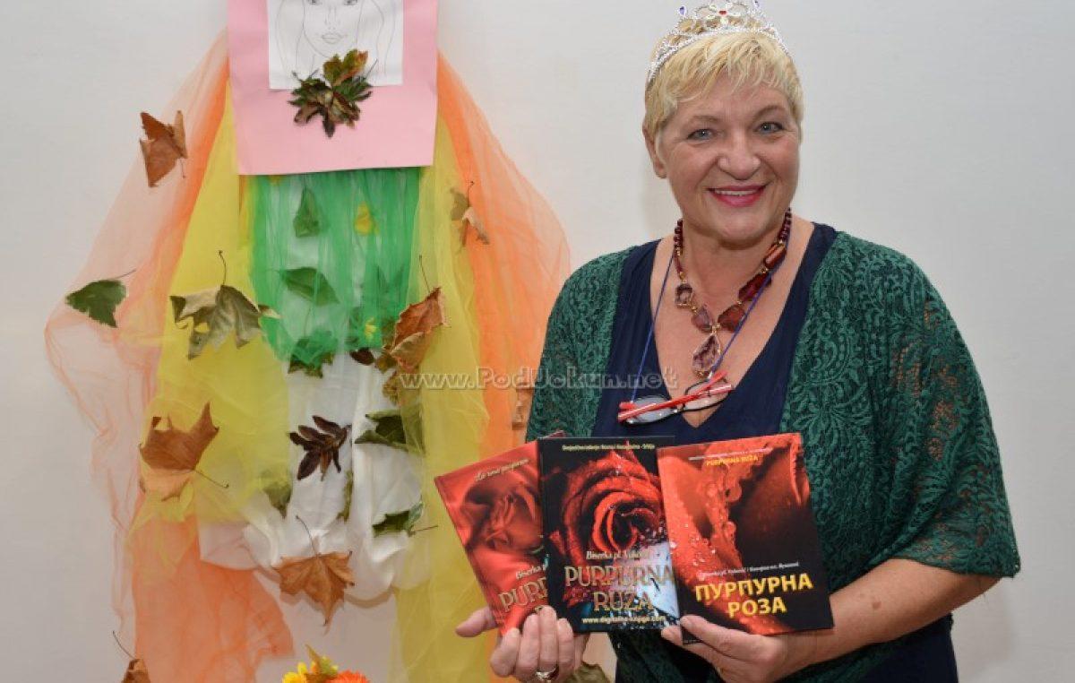 FOTO/VIDEO Održana promocija knjige 'Purpurna ruža' autorice Biserke pl. Vuković u lovranskoj galeriji Laurus