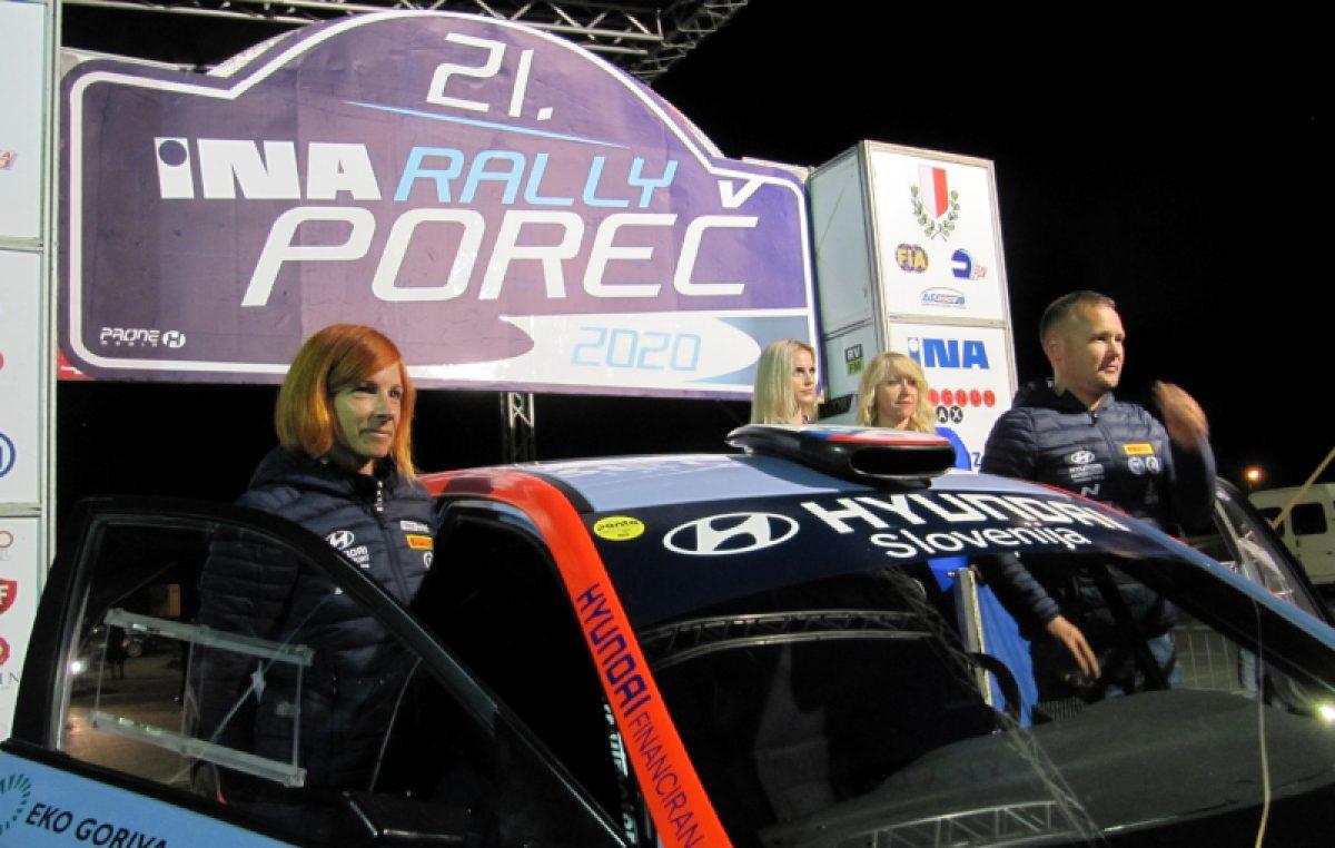 U OKU KAMERE 21. INA Rally Poreč 2020. – Ceremonijalni  start sa Žatike
