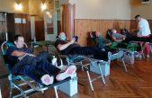 U OKU KAMERE Prikupljene su 43 doze krvi,  Milivoj Srdoč darivao je svoju krv 123 puta