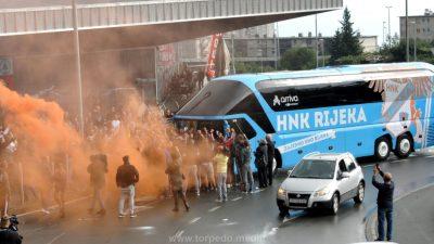 VIDEO/VIDEO Junacima iz Kopenhagena na Rujevici priređen vatreni doček