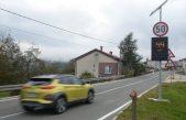 VIDEO U Šapjanama i Pasjaku postavljeni mjerači brzine kretanja motornih vozila