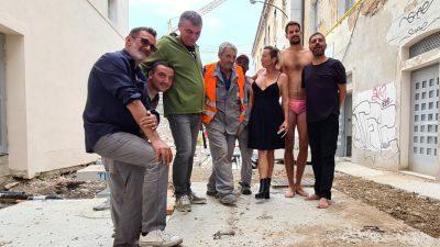 Odličnim 'Igrokazom koji to nije' započela ceremonija zatvaranja FKK Kantrida i  otvorenje Art kvarta Benčić