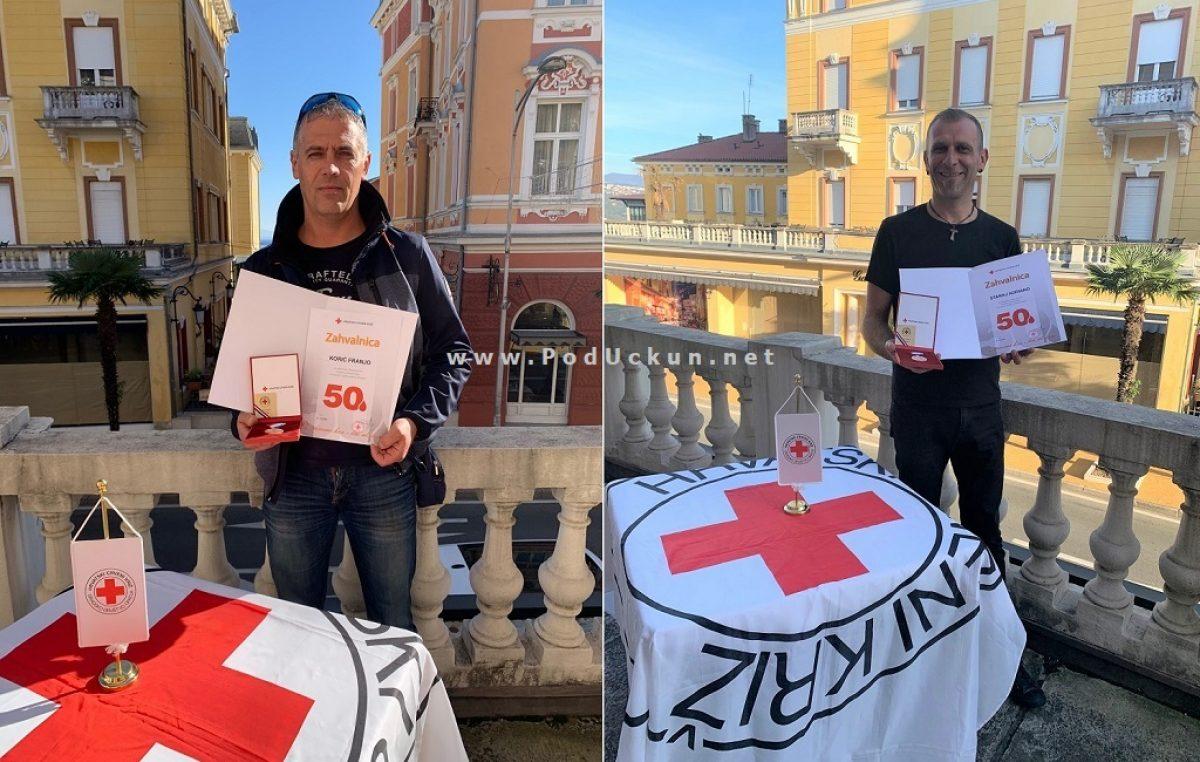 Predstavljamo ovogodišnje nagrađene darivatelje krvi GDCK Opatija – Franjo Korić i Adriano Staraj