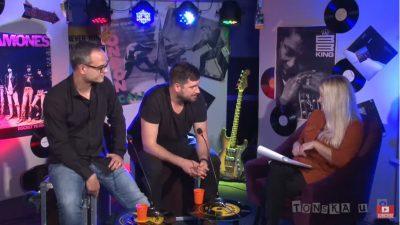VIDEO Riječki bend Projekt album 'Zaustavi vrijeme' premijerno predstavio u emisiji 'Tonska u 8'
