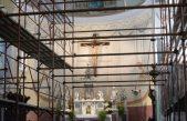 FOTO/VIDEO U župnoj crkvi Sv. Ane traju opsežni restauratorski radovi @ Volosko
