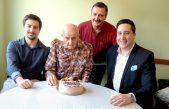 U OKU KAMERE Vlatku Valiću najstarijem stanovniku Općine Matulji uručen prigodan bon i torta