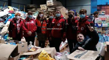 Konvoj s prvom turom potrepština prikupljenih na Liburniji isporučen u Glini