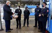 [FOTO/VIDEO] Župan Zlatko Komadina u tradicionalnom predblagdanskom posjetu djelatnicima GP Rupa