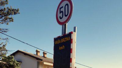 U OKU KAMERE Uvedene nove mjera usporavanja prometa u općini Viškovo