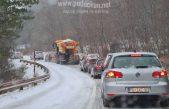 [VIDEO] Zimski uvjeti na cestama uzrokovali kilometarske kolone