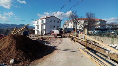 Više radova na izgradnji vodoopskrbne mreže u Viškovu