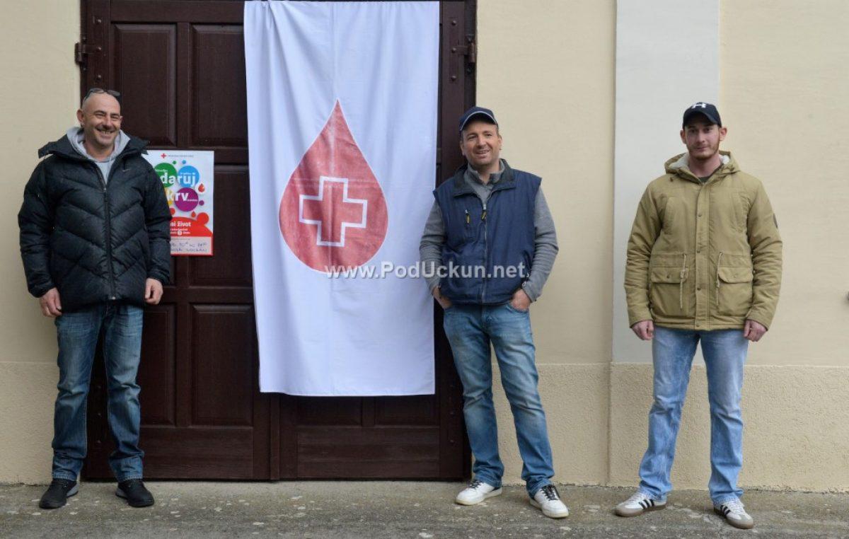 [FOTO/VIDEO] Održana prva akcija darivanja krvi u Lovranu – 57 darivatelja odazvalo se pozivu Crvenog križa