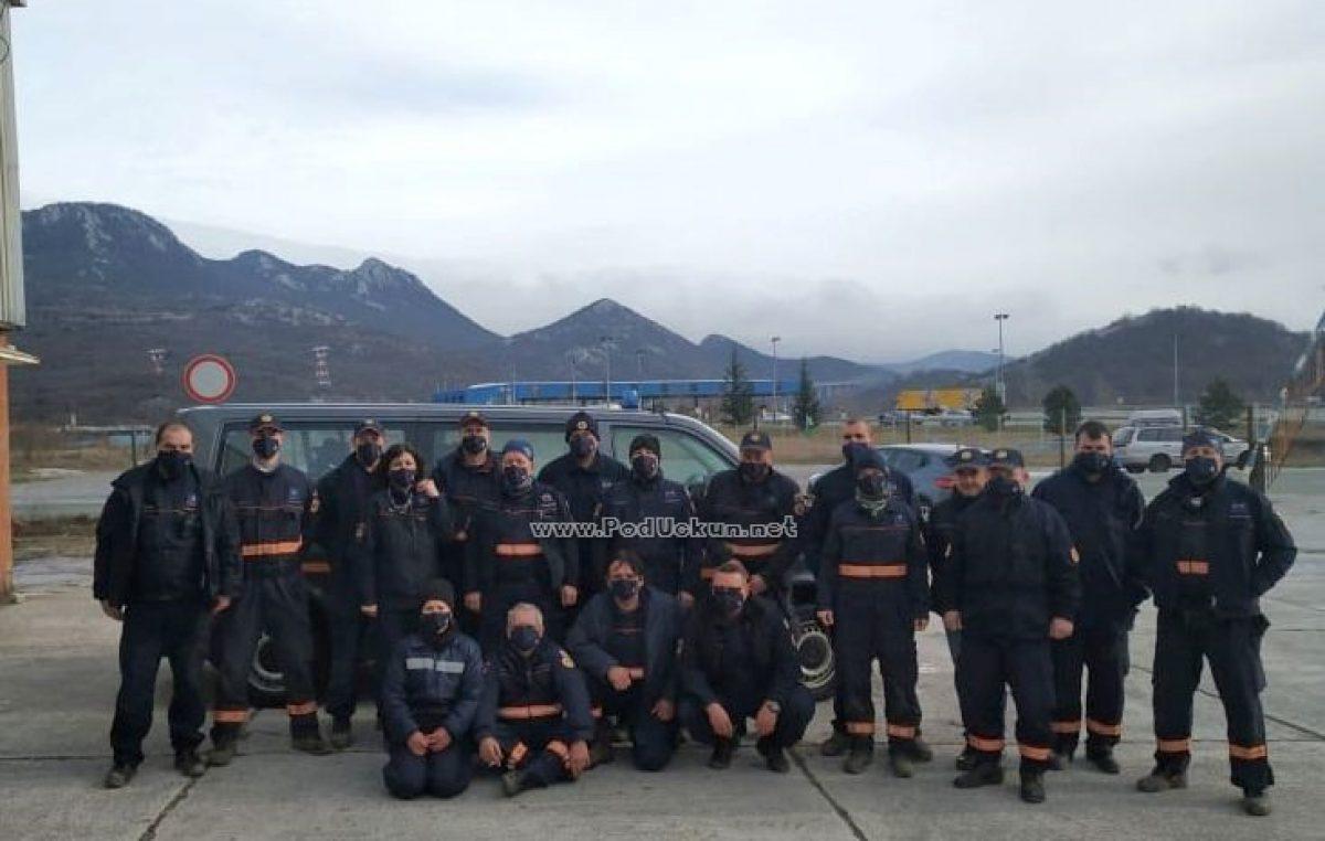 [FOTO/VIDEO] U Rijeku se vratila interventna ekipa koja je među prvima pomogla potresom pogođenim građanima