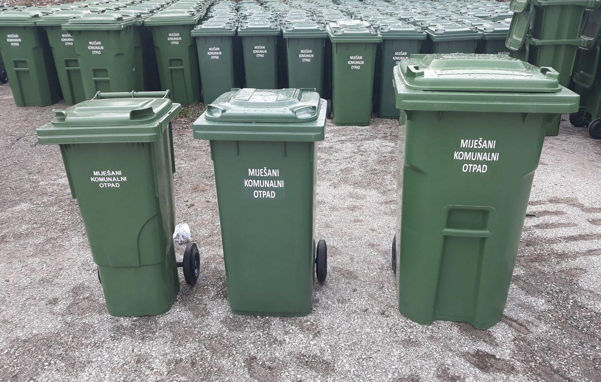 Obavijest o preuzimanju individualnih spremnika za vrijedne vrste otpada na području Općine Viškovo