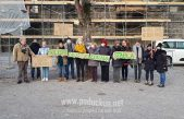 """FOTO Građani prosvjedovali protiv uklanjanja stabala na Crekvini: """"Stabla su zdrava, društvo je bolesno"""""""