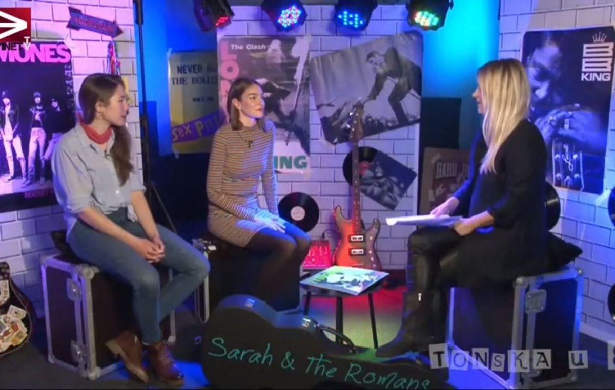 [VIDEO] Članovi riječkog benda Sarah and the Romans u emisiji 'Tonska u 8' otkrili gdje je 'nestala' Sarah