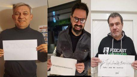 Mnoga poznata lica u humanitarnoj akciji #TopliDomZaBanovinu