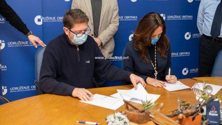 [VIDEO] 20 % popusta za obrtnike i članove njihovih obitelji – Potpisana suradnja s Visokom poslovnom školom PAR