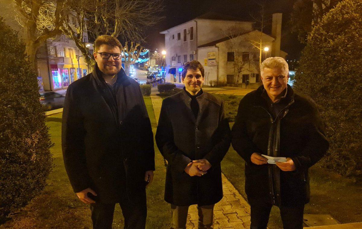 Peđa Grbin i Zlatko Komadina dali potporu Vedranu Kinkeli u utrci za načelnika Općine Matulji