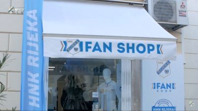 [VIDEO] Fan shop HNK Rijeka ponovno otvorio svoja vrata