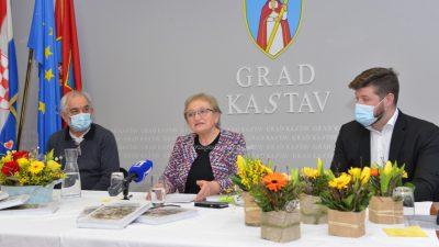 [FOTO/VIDEO] Knjiga 'Štorije z Kastafšćini i okole' Dragice Stanić predstavljena danas u Kastvu