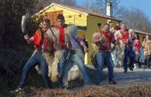 [FOTO/VIDEO] Zvonejski zvončari na Pust obahajali svoj komun
