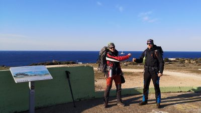 Prva etapa do Poklona – Humanitarna akcija 1100 kilometara za 1100 terapija započela je jutros na Rtu Kamenjak u Istri