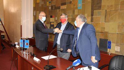 Komunalna infrastruktura uskoro stiže u Poduzetničku zonu Bodulovo – Grad Rijeka, Vodovod i kanalizacija i GP Krk potpisali ugovor vrijedan 10 milijuna kuna