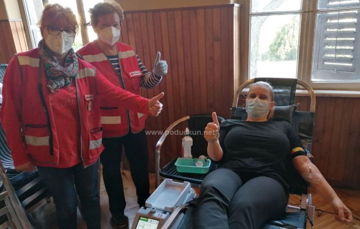[FOTO] U matuljskom Hangaru održana akcija dobrovoljnog darivanja krvi