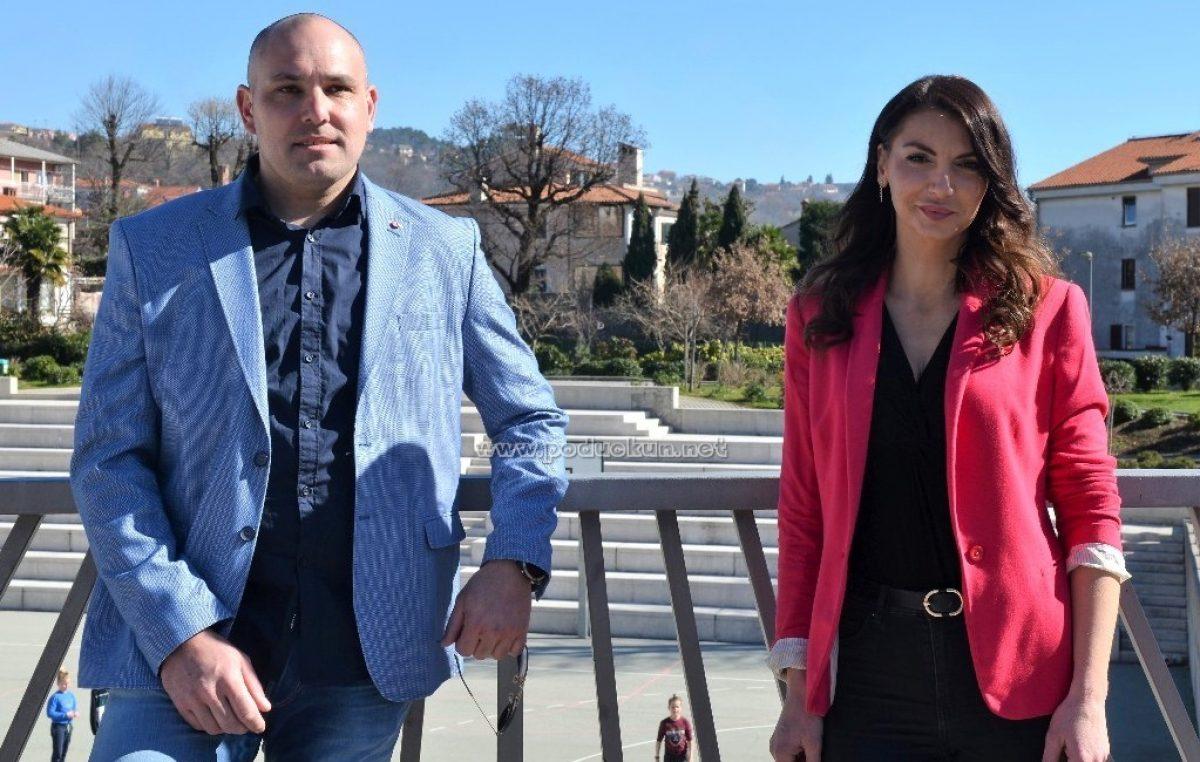 [VIDEO] Iva Letina i Igor Barak ispred HDZ-ovog načelničkog tima: 'Svi zajedno možemo oživiti Matulje'