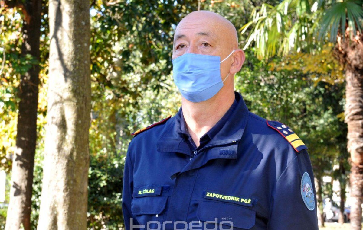 Šćulac uoči Dana civilne zaštite: 'Pokazali smo se u praksi kao jako dobra županija djelujući brzo, operativno, konkretno i korektno'