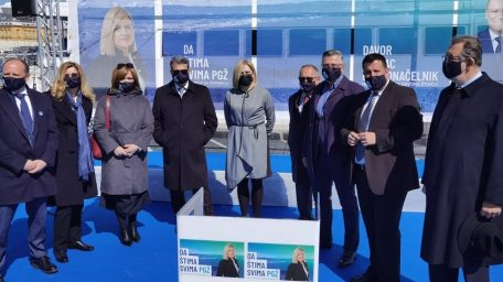 [VIDEO] Kandidatkinja za županicu Iva Rinčić predstavila svoj tim