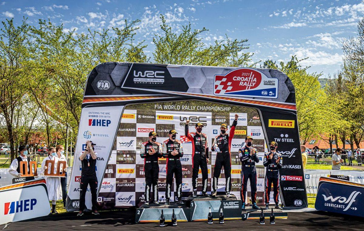 WRC CROATIA RALLY – Ogier pobijedio za šest desetinki