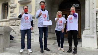 Fernando Kirigin i SDP prvi predali preko 1.000 potpisa podrške: Opatijci su odlično prihvatili naš fer program