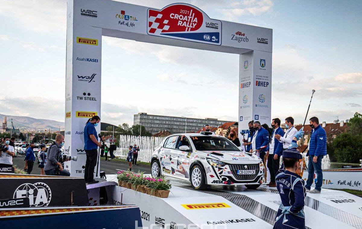 WRC CROATIA RALLY – Evansu shakedown, ceremonijalni start obilježile hrvatske posade