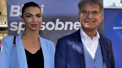 Iva Letina podržala kandidata HDZ-a za župana: Gari Cappelli ima viziju, znanje i osjećaj za ljude i ovaj kraj