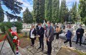 Povodom Dana oslobođenja Kastva položen vijenac i zapaljena svijeća na Spomeniku palim borcima